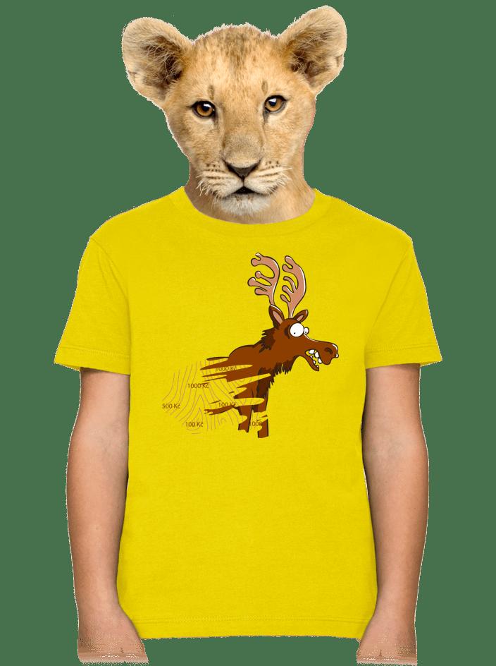 Stierací los detské tričko