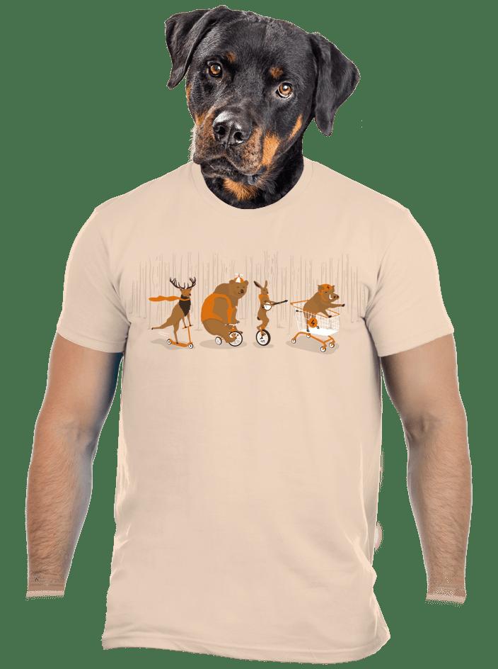 Mejdan v lese pánske tričko