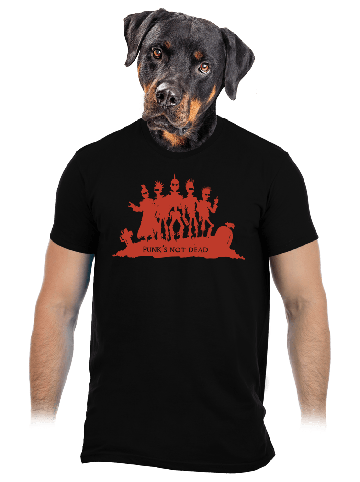 Punk's Not Dead pánske tričko