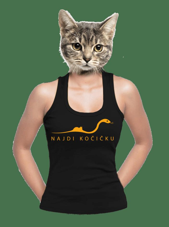 Najdi kočičku dámske tielko