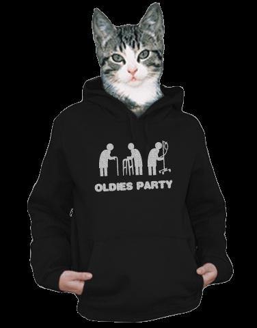 Oldies party dámska mikina