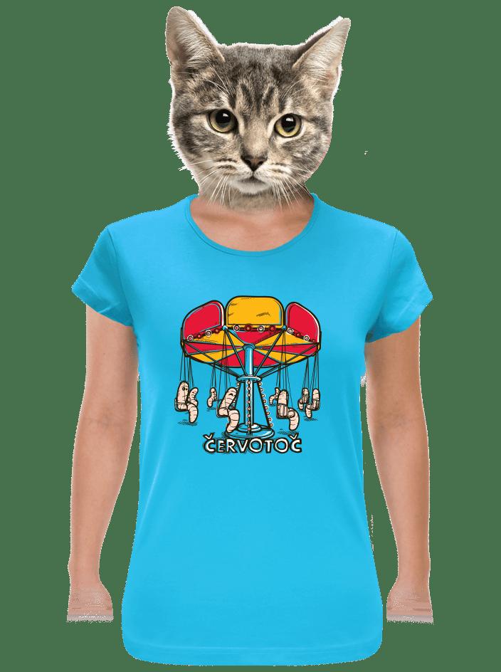 Červotoč dámske tričko