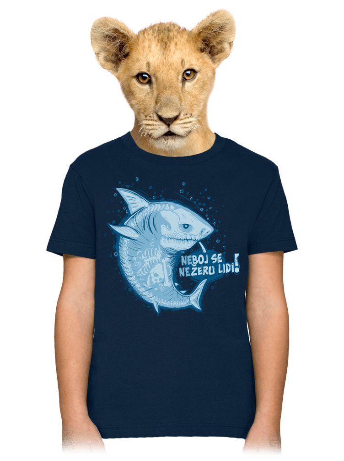 Nežeru lidi detské tričko