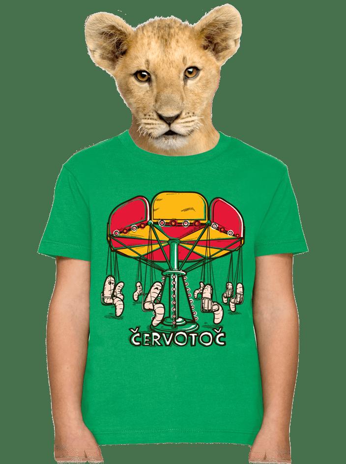 Červotoč detské tričko
