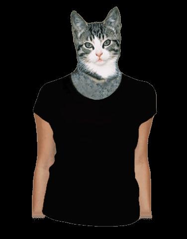 Dámske tričko raglánové čierne