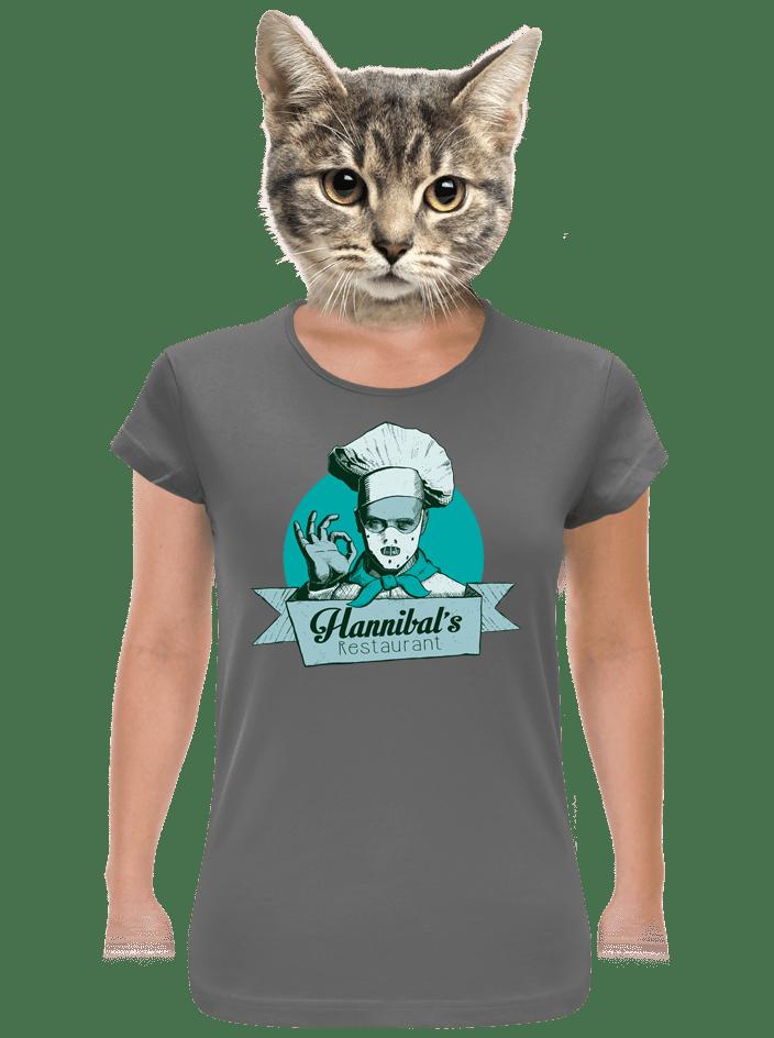 U Hannibala dámske tričko