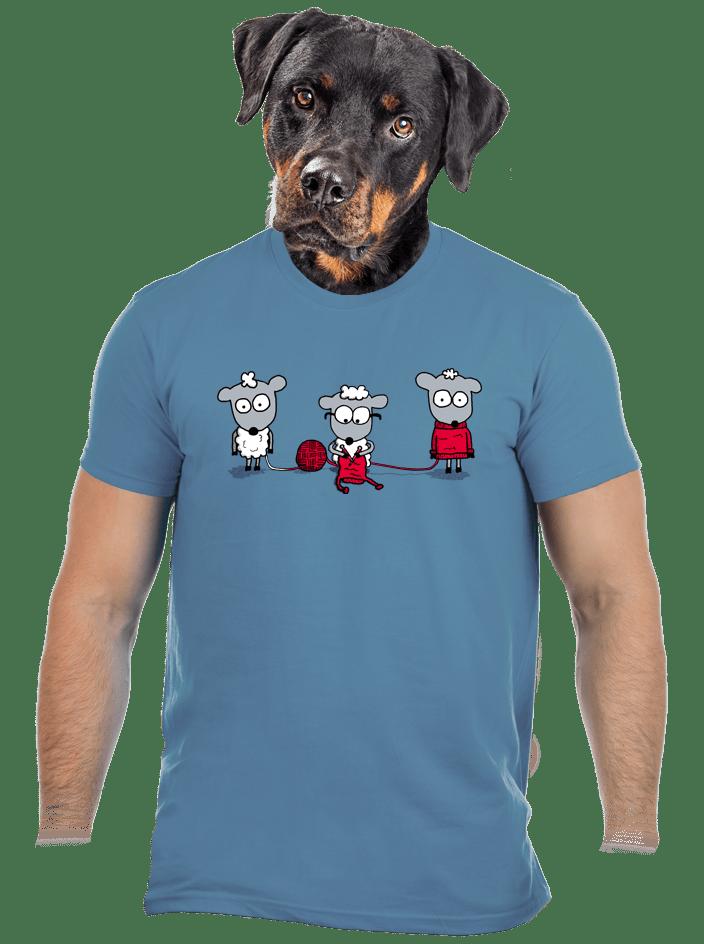 Kolobeh vlny pánske tričko