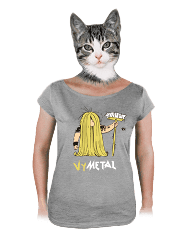 Metalista dámske tričko