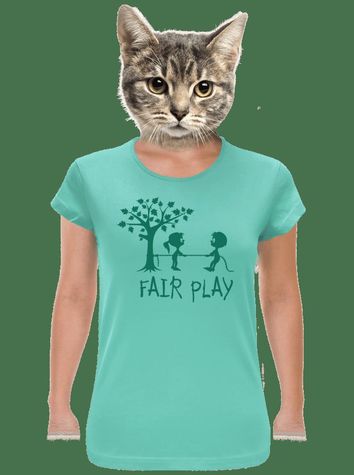 Fair play zelené dámske tričko
