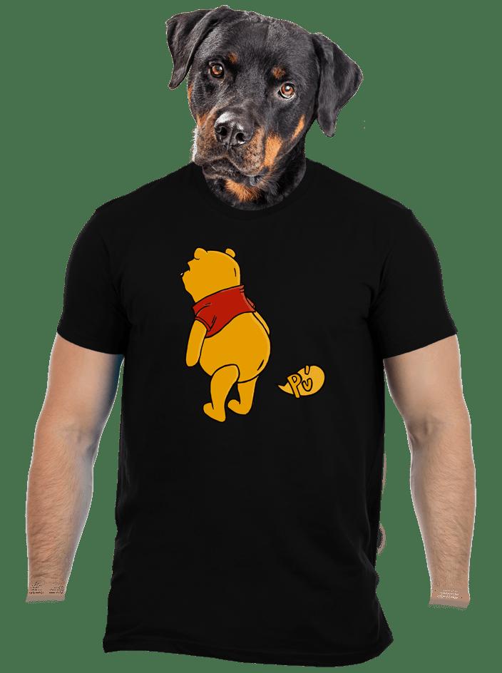 Ups čierne pánske tričko