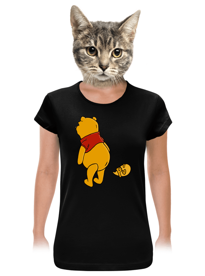 Ups čierne dámske tričko