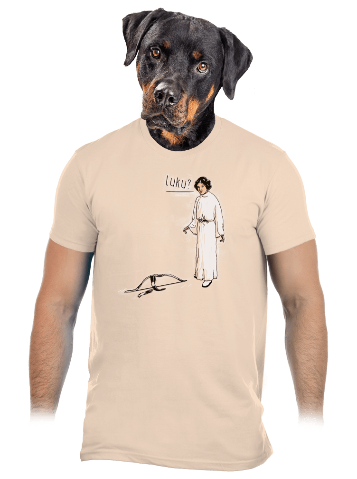Luke a Leia pánske tričko
