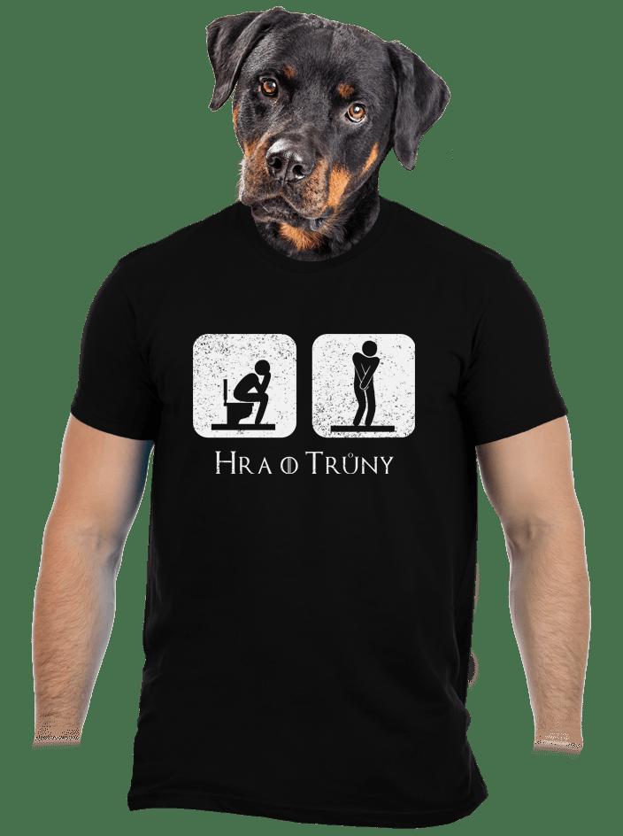 Hra o trůny čierne pánske tričko