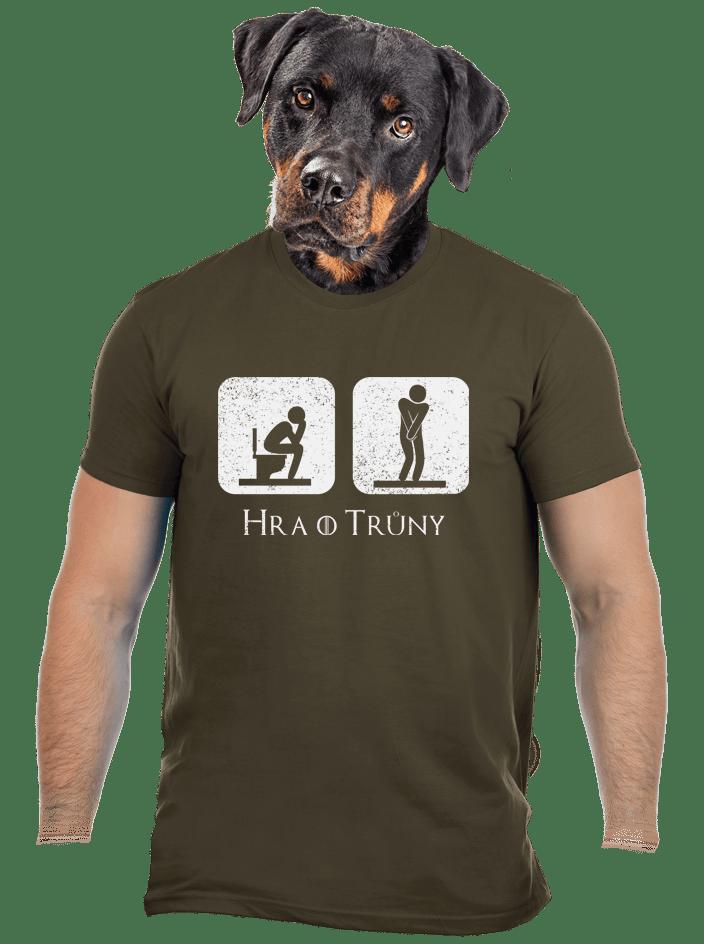 Hra o trůny zelené pánske tričko