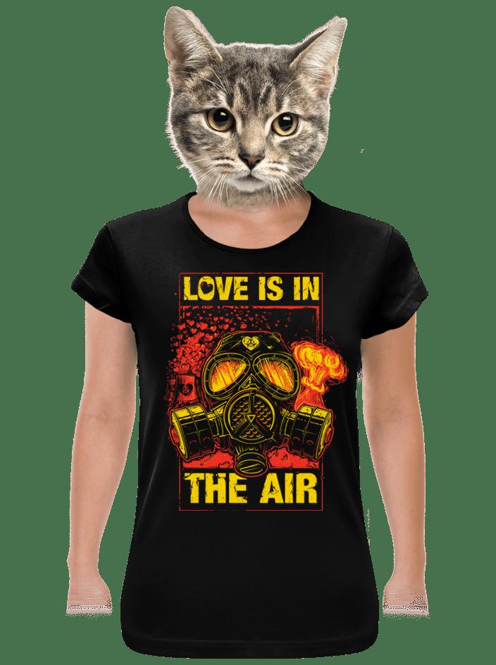 Love is in the Air dámske tričko