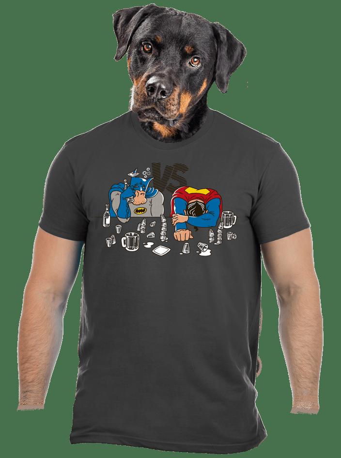 Súboj superhrdinov pánske tričko
