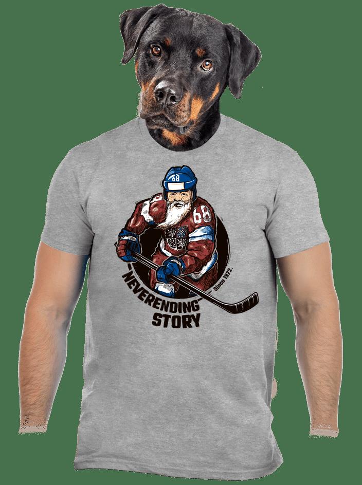 Jarda Forever šedé pánske tričko