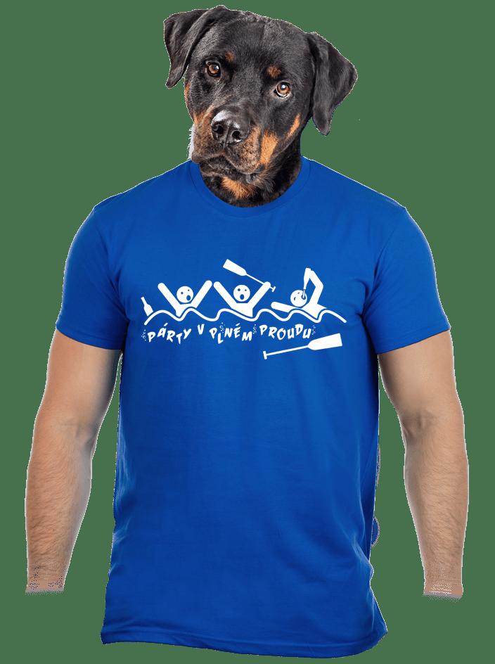 Party v plném proudu pánske tričko