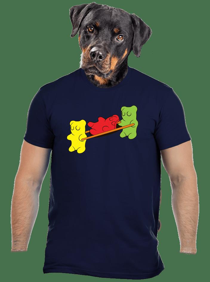 Gumkáči pánske tričko