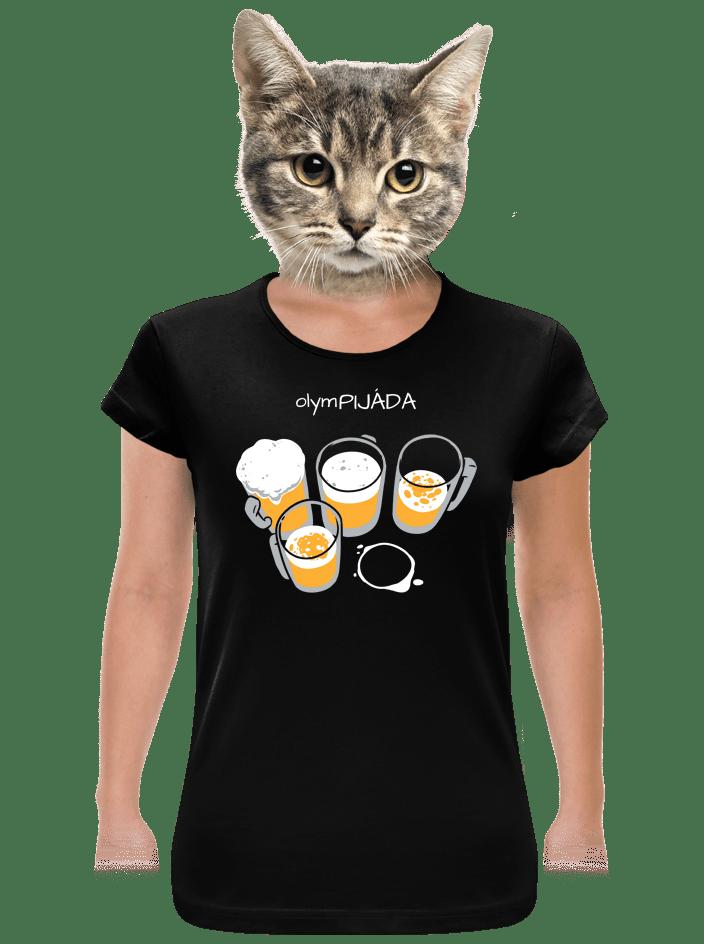 Pijáda dámske tričko