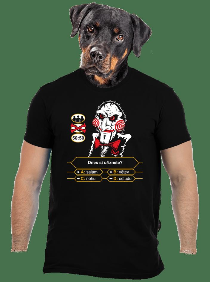 Milionář pánske tričko