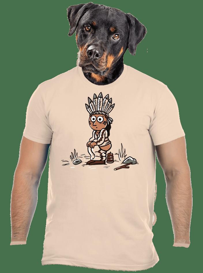 Indiánek pánske tričko