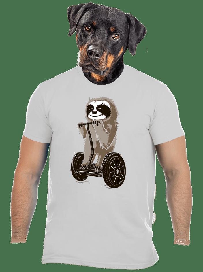 Leňoch šedé pánske tričko