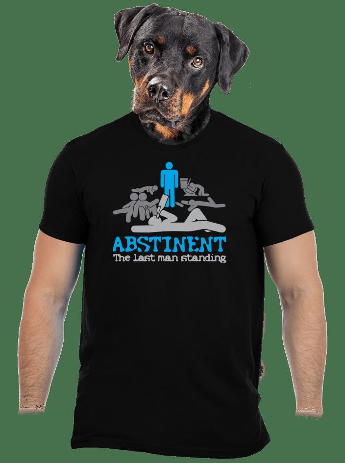 Abstinent pánske tričko