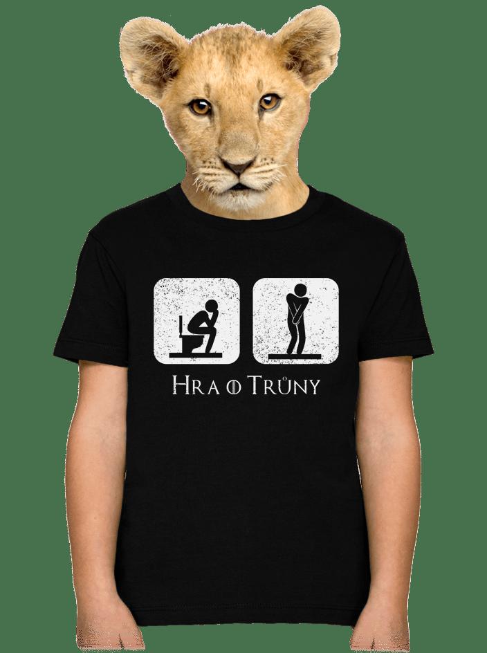 Hra o trůny detské tričko