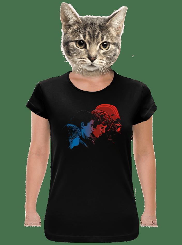 Vaders evolution dámske tričko
