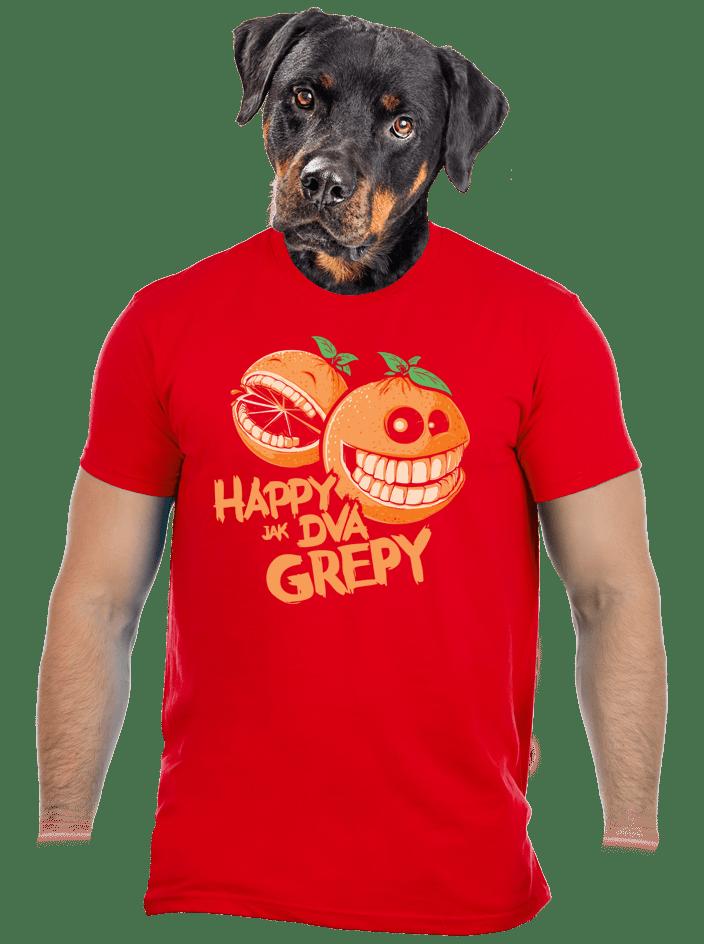 Happy grepy pánske tričko