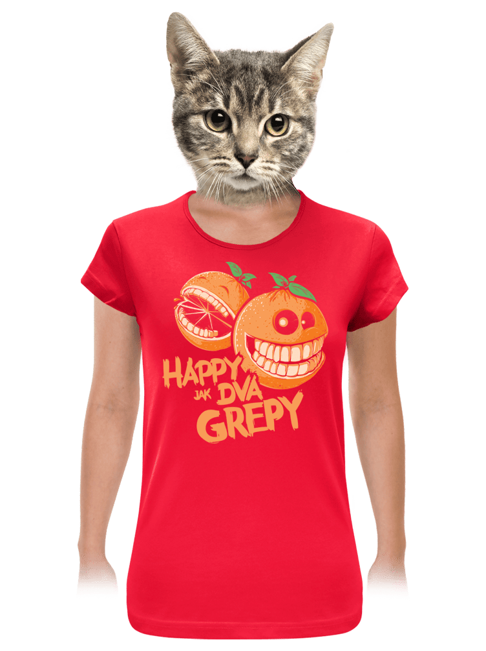Happy grepy dámske tričko