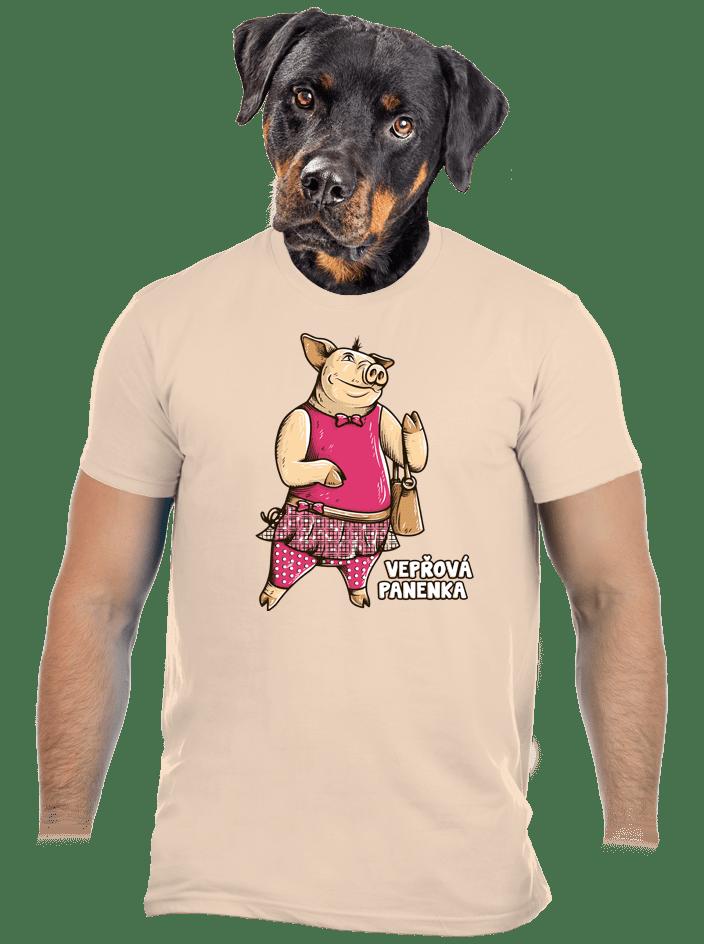 Vepřová panenka pánske tričko
