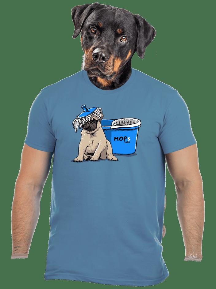 Mops pánske tričko