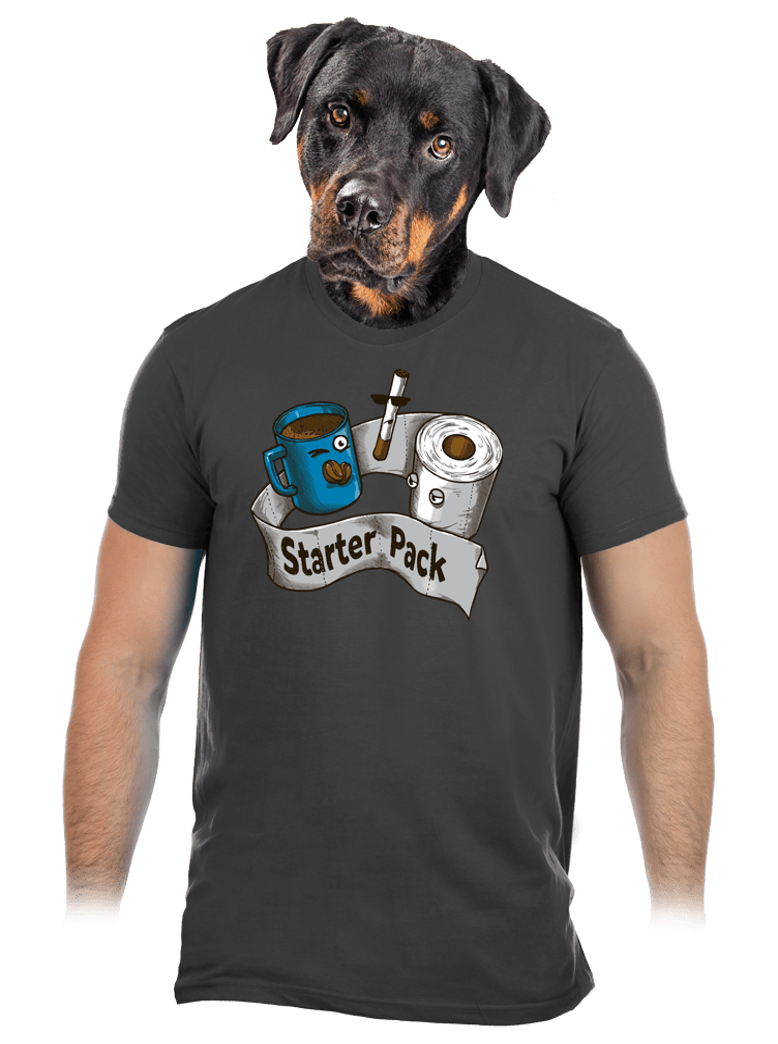 Starter Pack pánske tričko