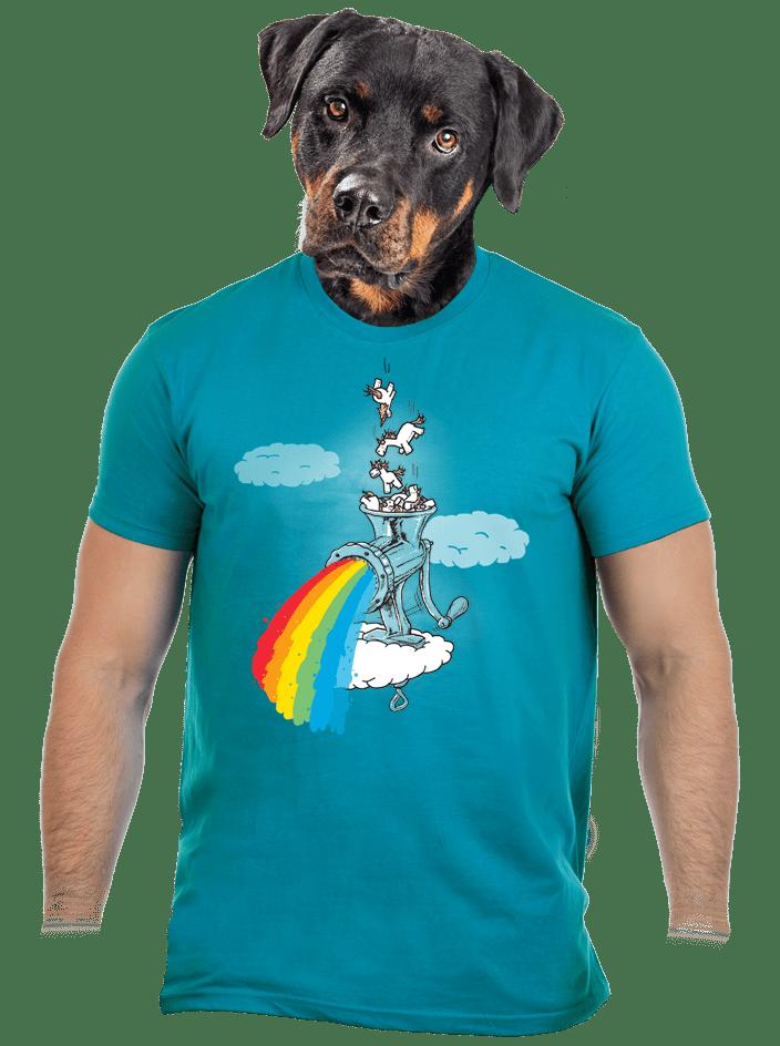 Ako vzniká dúha pánske tričko