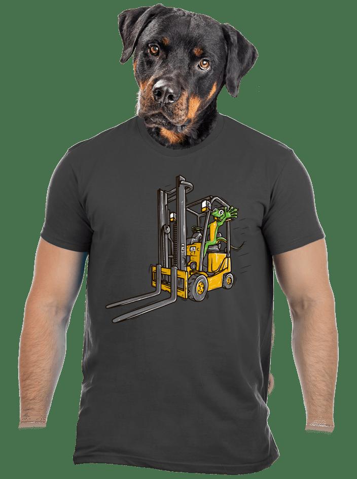 Ještěrka pánske tričko