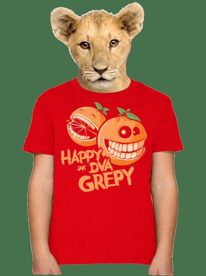 Happy grepy detské tričko