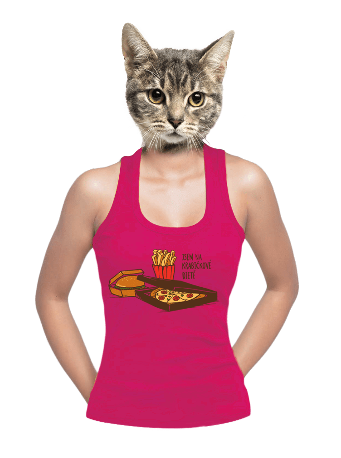 Krabičková dieta dámske tielko