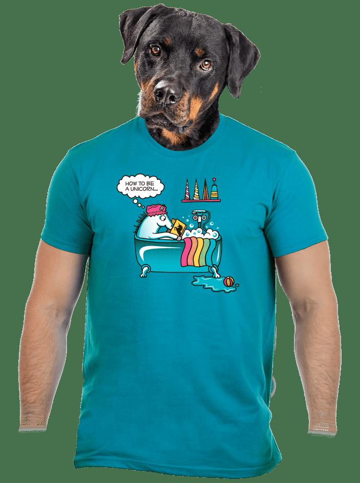 Ako sa stať jednorožcom pánske tričko