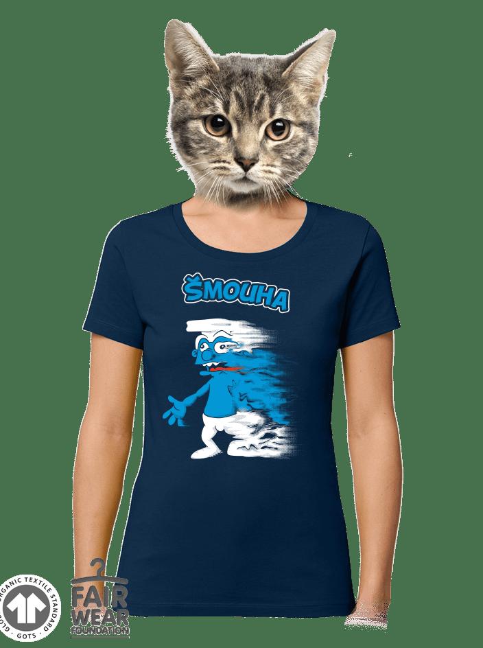 Šmouha dámske BIO tričko