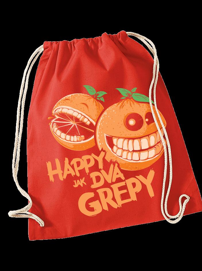 Happy grepy vak na chrbát