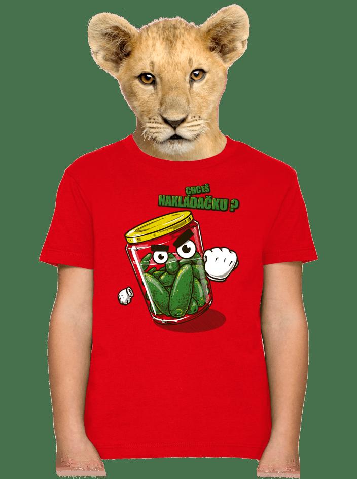 Nakládačka detské tričko
