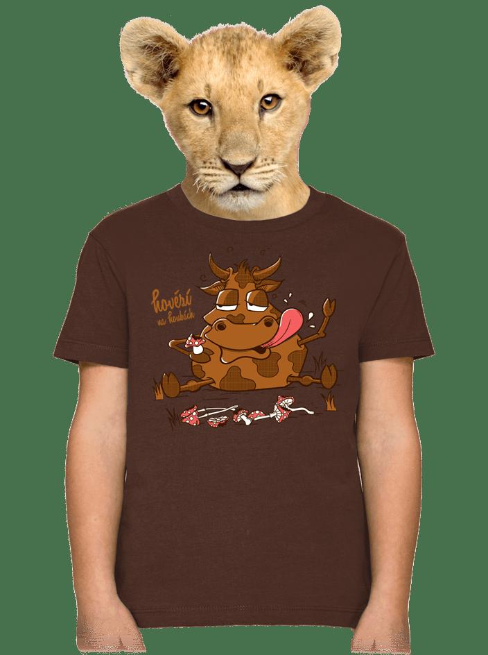 Hovězí na houbách detské tričko