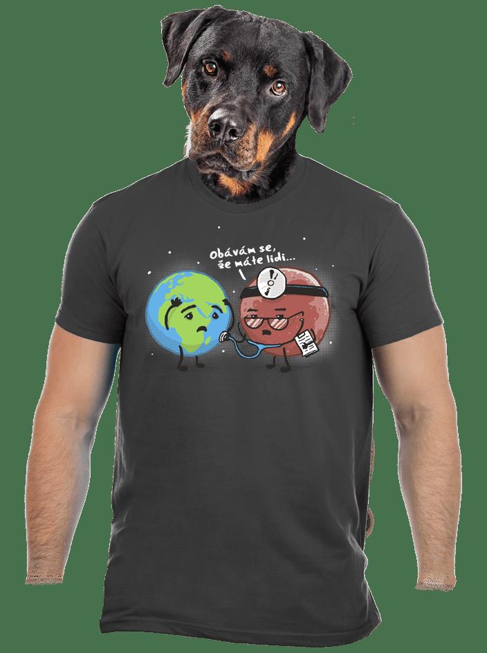 Diagnóza pánske tričko