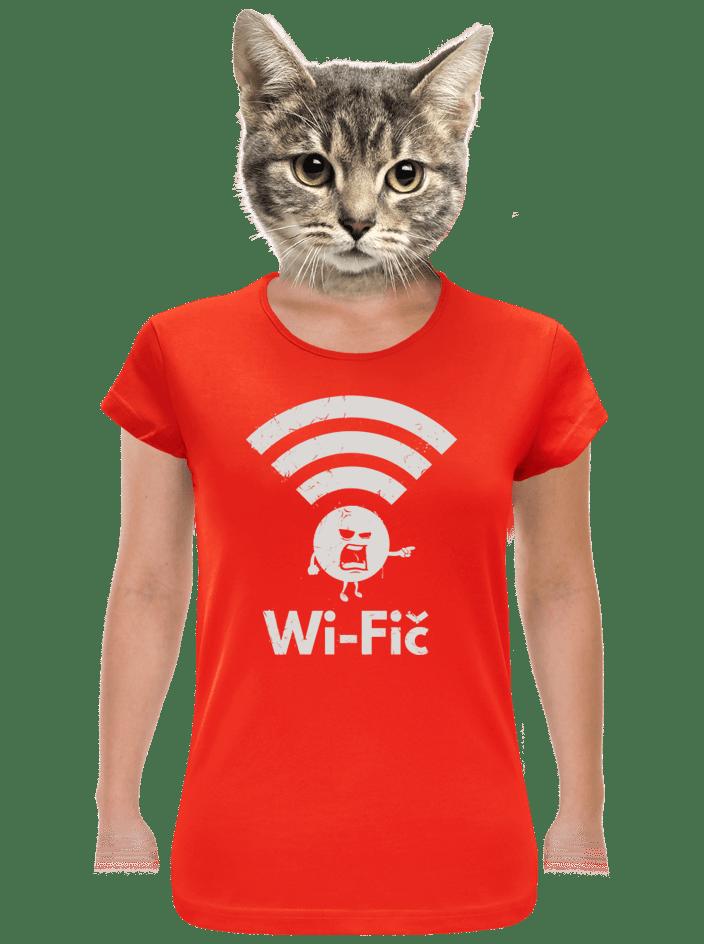 Wifič dámske tričko
