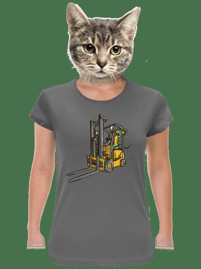 Ještěrka dámske tričko