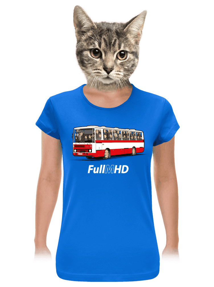 Full MHD dámske tričko