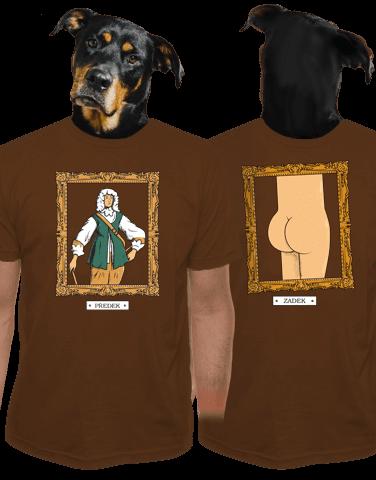 Předek pánske tričko