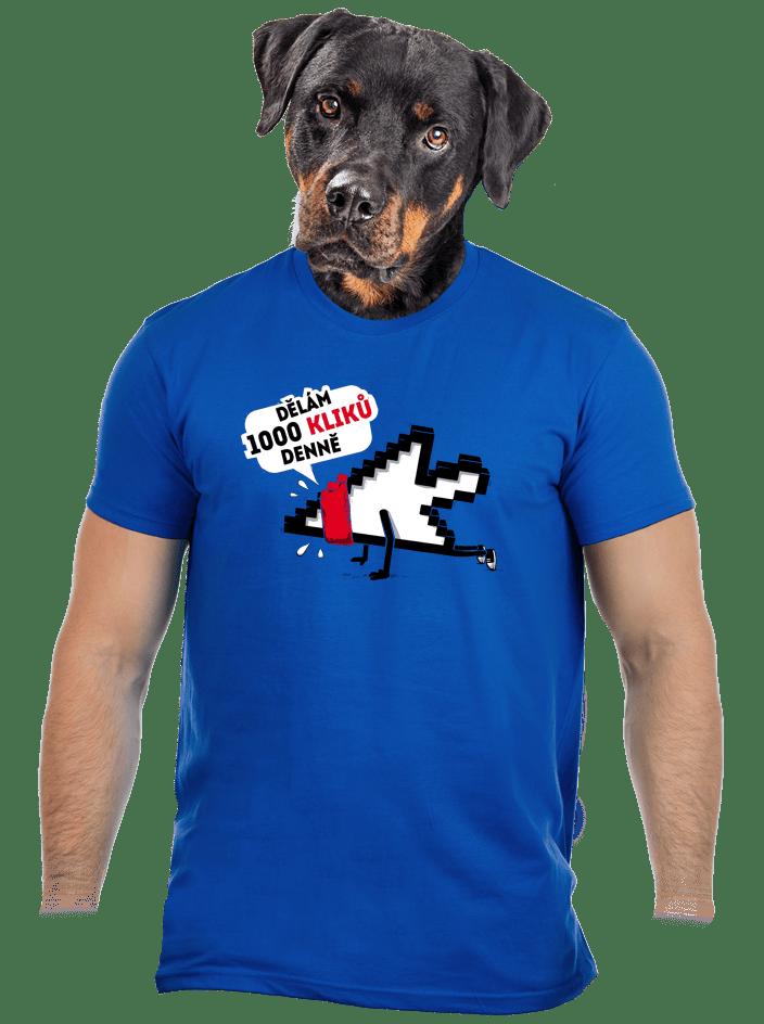 Klikař pánske tričko